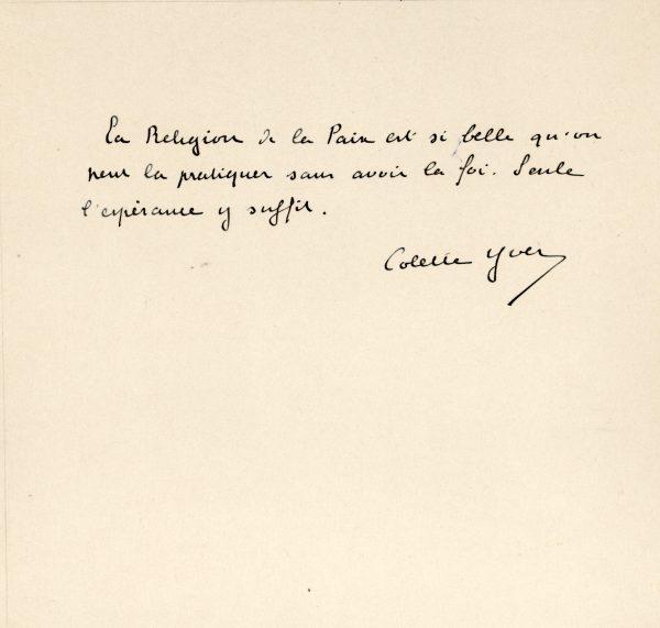 Colette Yver