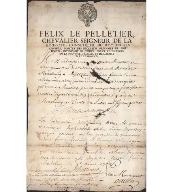 Félix Le Pelletier de la Houssaye