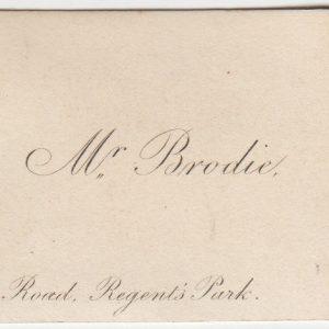 Benjamin Collins Brodie